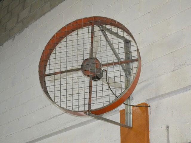 Ventilador Industrial de Parede